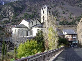 Església de Sant Esteve, built in the 12th century